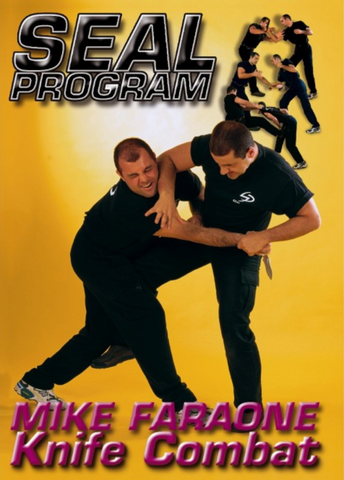 Seal Program Knife Combat DVD by Mike Faraone - Budovideos