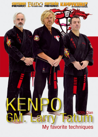 Kenpo, My Favorite Techniques DVD with Larry Tatum & Friends - Budovideos Inc