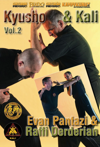 Kyusho & Kali Empty Hands Vol 2 DVD with Evan Pantazi & Raffi Derderian - Budovideos