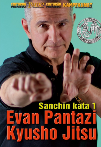 Kyusho Sanchin Kata Vol 1 DVD with Evan Pantazi - Budovideos