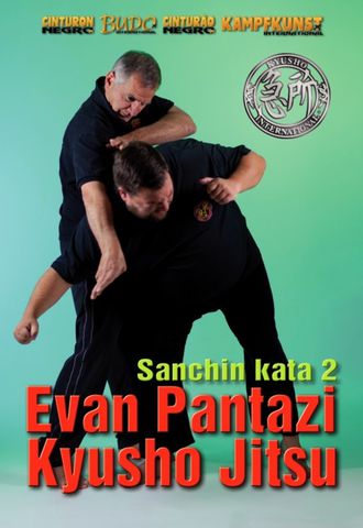 Kyusho Sanchin Kata Vol 2 DVD by Evan Pantazi - Budovideos