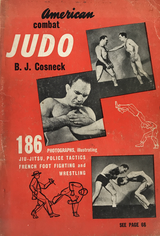 American Combat Judo Book by BJ Cosneck (Preowned) - Budovideos