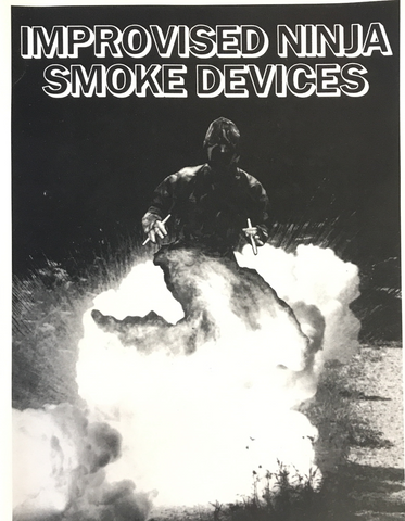 Improvised Ninja Smoke Devices Book by Toshitora Yamashiro - Budovideos