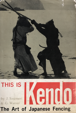 This is Kendo Hardcover Book by J Sasamori & G Warner (Preowned) - Budovideos