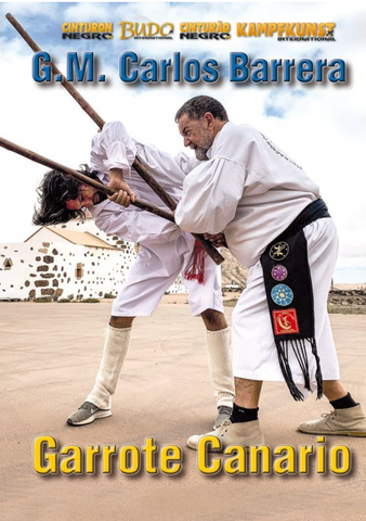 Garrote Canario Advanced Canarian Staff DVD by Carlos Barrera - Budovideos