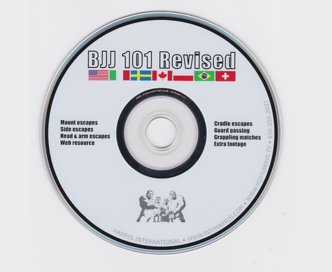 BJJ 101 Revised DVD by Roy Harris (Preowned) - Budovideos