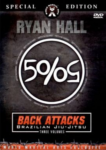 Back Attacks 3 DVD Set with Ryan Hall (Preowned)