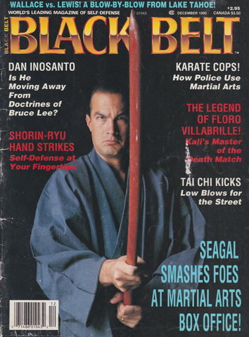 Black Belt Magazine Dec 1990 with Steven Seagal (Preowned) - Budovideos