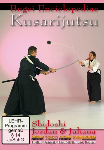 Bugei Encyclopedia: Kusarijutsu DVD by Jordan Augusto - Budovideos Inc
