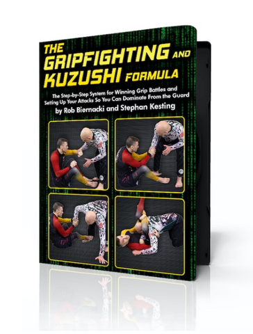 The Gripfighting & Kuzushi Formula 4 DVD Set with Rob Biernacki and Stephan Kesting - Budovideos Inc