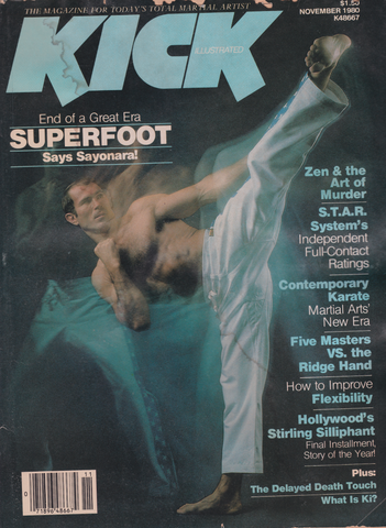 Kick Illustrated Nov 1980 Magazine (Preowned) - Budovideos Inc