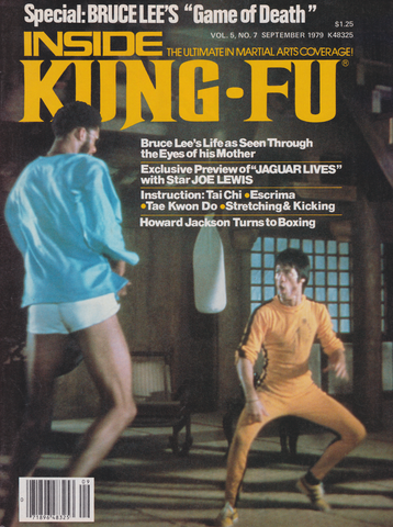 Inside Kung Fu September 1979 Magazine (Preowned) - Budovideos Inc