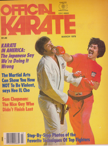Official Karate March 1976 Magazine (Preowned) - Budovideos Inc