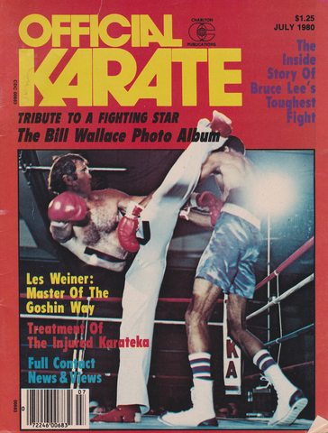 Official Karate July 1980 Magazine (Preowned) - Budovideos Inc