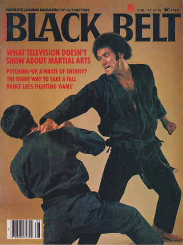 Black Belt Magazine Aug 1977 (Preowned) - Budovideos Inc
