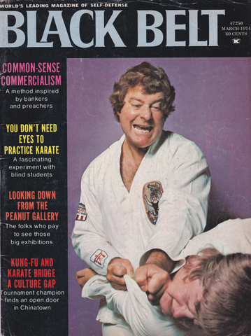 Black Belt Magazine March 1974 (Preowned) - Budovideos Inc