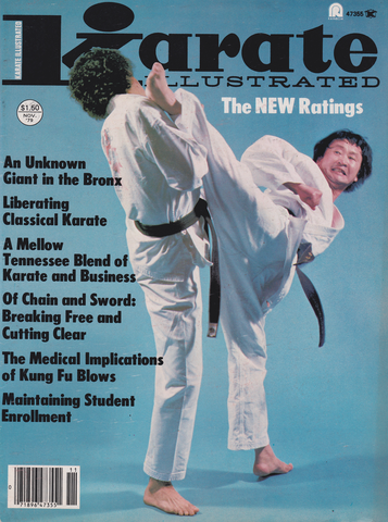 Karate Illustrated Nov 1979 Magazine (Preowned) - Budovideos Inc