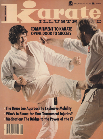 Karate Illustrated Aug 1977 Magazine (Preowned) - Budovideos Inc
