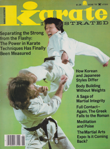 Karate Illustrated June 1979 Magazine (Preowned) - Budovideos Inc