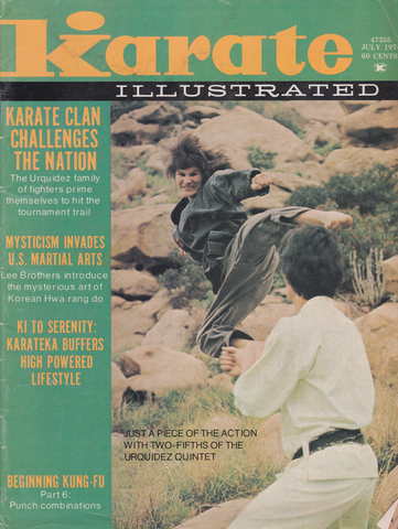 Karate Illustrated July 1974 Magazine (Preowned) - Budovideos Inc