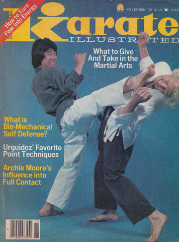 Karate Illustrated Nov 1978 Magazine (Preowned) - Budovideos Inc