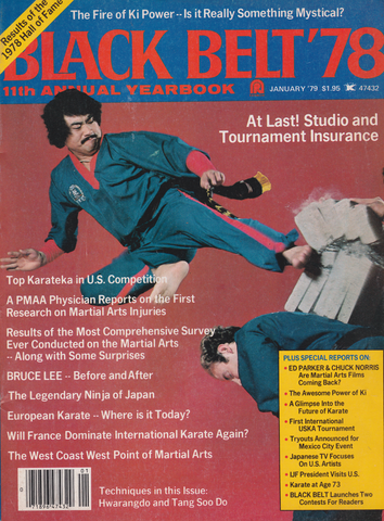 Black Belt Magazine Yearbook 1978 (Preowned) - Budovideos Inc
