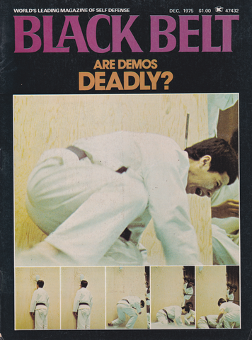 Black Belt Magazine Dec 1975 (Preowned) - Budovideos Inc