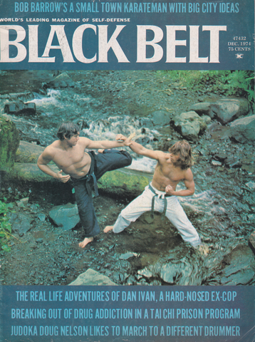Black Belt Magazine Dec 1974 (Preowned) - Budovideos Inc