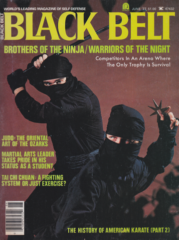 Black Belt Magazine June 1977 (Preowned) - Budovideos Inc