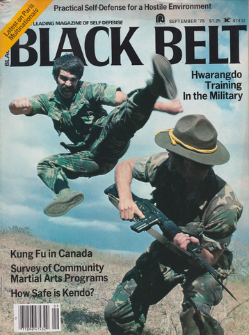 Black Belt Magazine Sept 1978 (Preowned) - Budovideos Inc