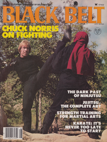 Black Belt Magazine Aug 1980 (Preowned) - Budovideos Inc