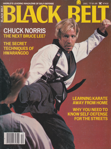 Black Belt Magazine Dec 1977 (Preowned) - Budovideos Inc