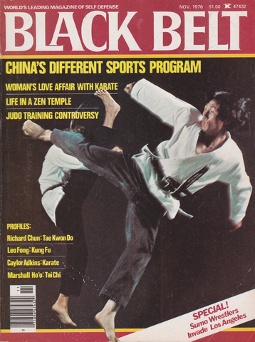 Black Belt Magazine Nov 1976 (Preowned) - Budovideos Inc
