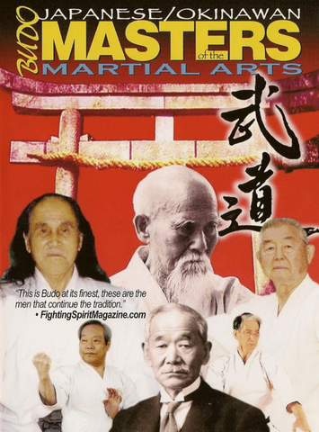 Budo: Japanese Okinawan Masters of Martial Arts DVD - Budovideos Inc