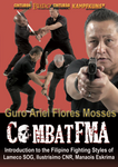 Combat FMA Filipino Martial Arts DVD by Ariel Flores Mosses - Budovideos Inc