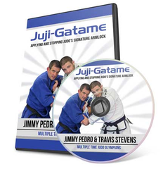 Juji Gatame Judo Armlock DVD with Jimmy Pedro & Travis Stevens