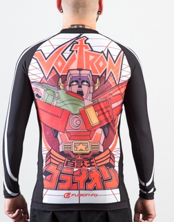 Voltron Beast King BJJ Rashguard - WHITE (Officially Licensed)