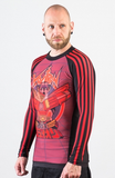 Voltron Beast King BJJ Rashguard - RED (Officially Licensed) - Budovideos