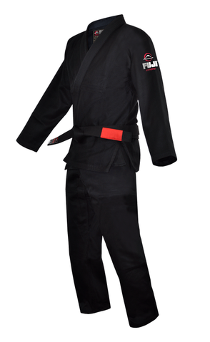Fuji BJJ Black Single Weave Gi