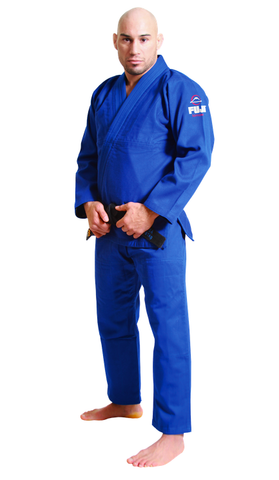 Blue All Around BJJ Gi by Fuji - Budovideos Inc