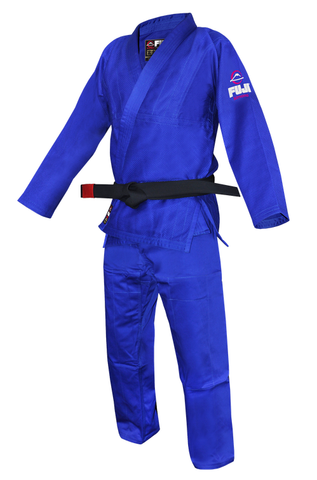 Fuji BJJ Blue Single Weave Gi
