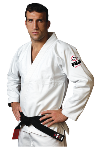 White All Around BJJ Gi by Fuji - Budovideos Inc