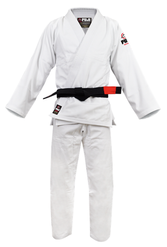 Fuji BJJ White Single Weave Gi
