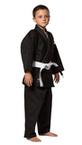 Fuji Childrens BJJ Uniform - Black - Budovideos