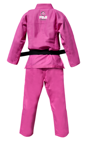 Pink All Round Gi by Fuji - Budovideos