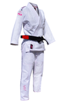 Pink Blossom Kid's Gi by Fuji - Budovideos Inc