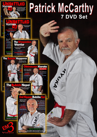Okinawan Karate 7 DVD Set with Patrick McCarthy