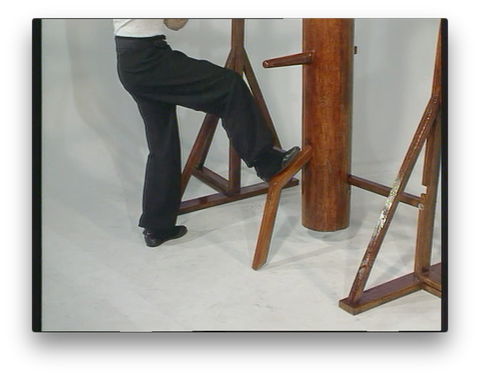 Wing Chun Wooden Dummy Form part 5 Basic Drills by Randy Williams (On Demand)