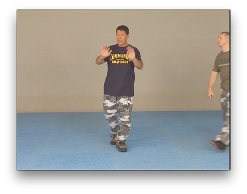 Commando Krav Maga Knife Attacks by Moni Aizik (On Demand)