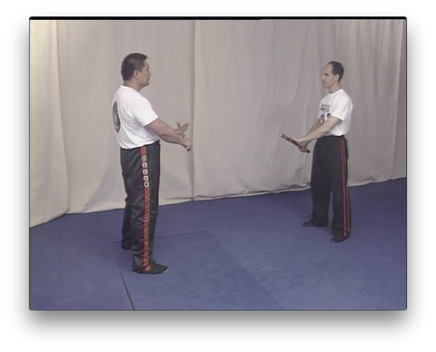 Arnis single stick disarming